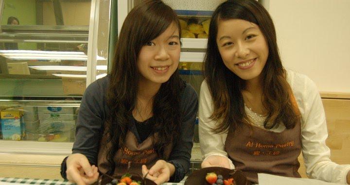 Iris and Karen's cakes look as pretty as