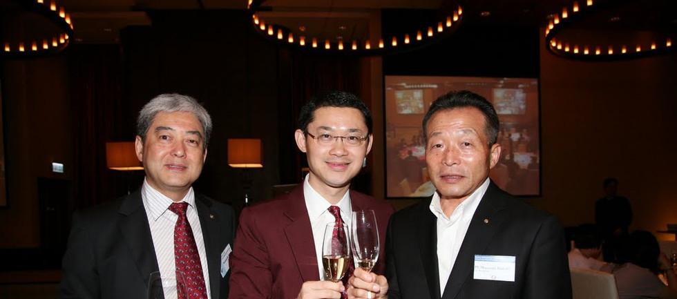Kenneth, Jason and Tsubaki at the last J