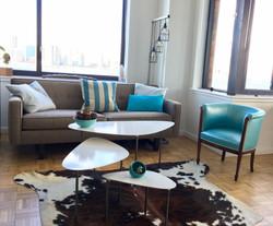 Pebble nesting coffee tables
