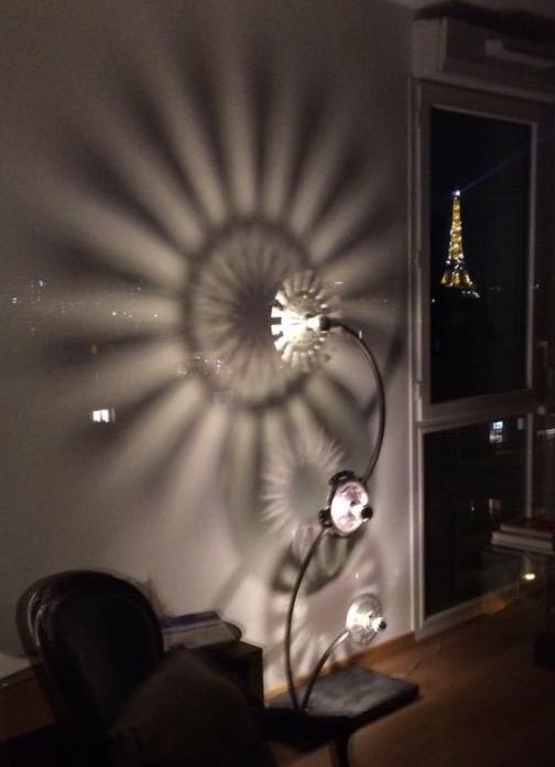 Dalhia floor lamp