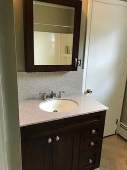 Vanity w/ marble top