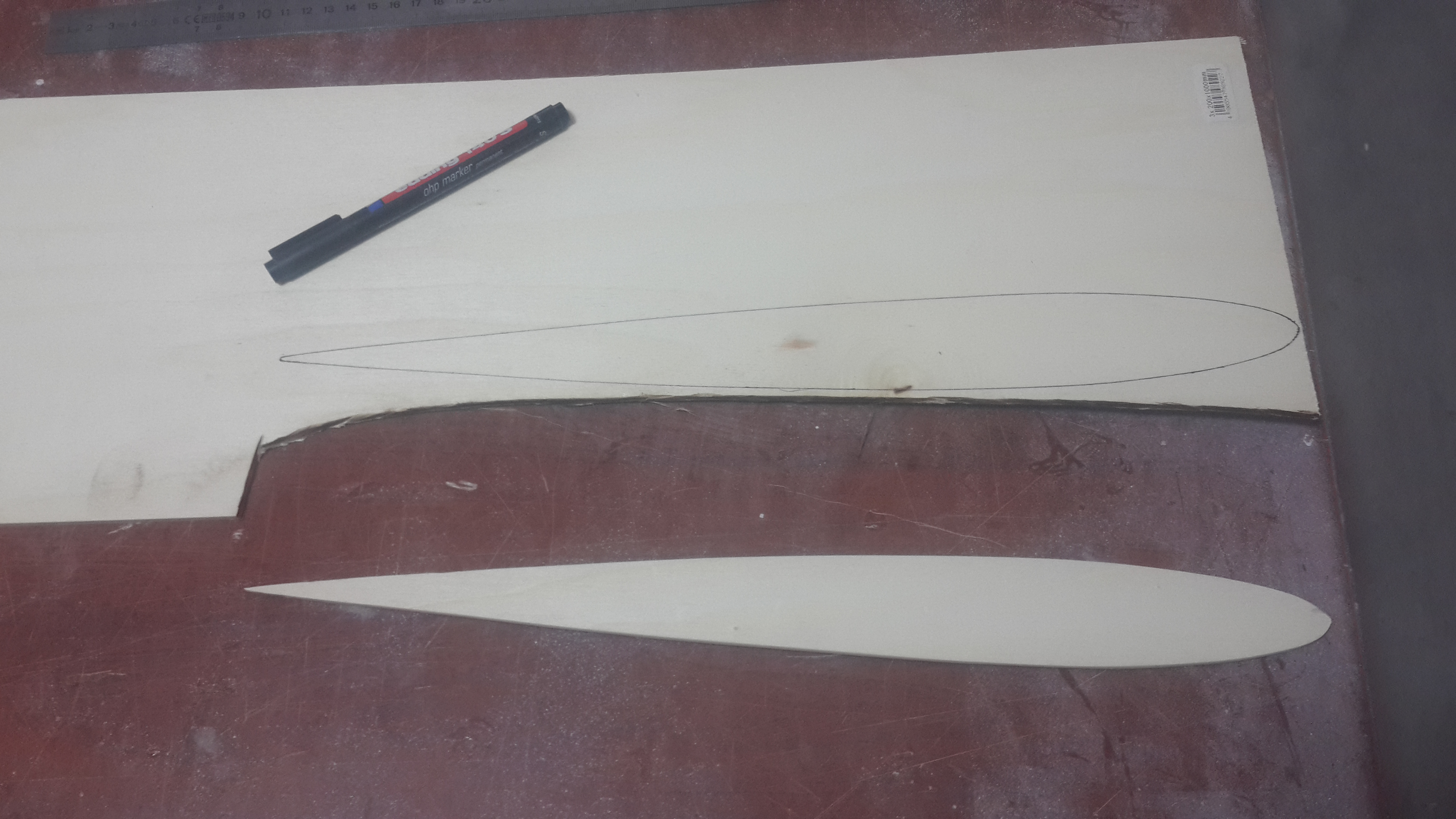 Pilon için şablon hazırlığı