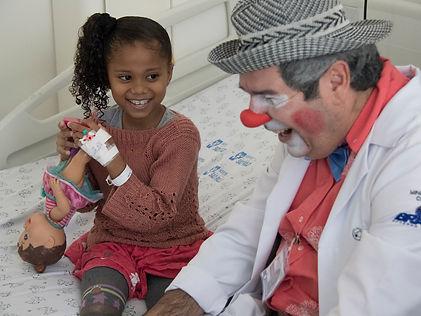 Doe sorrisos para nossas crianças