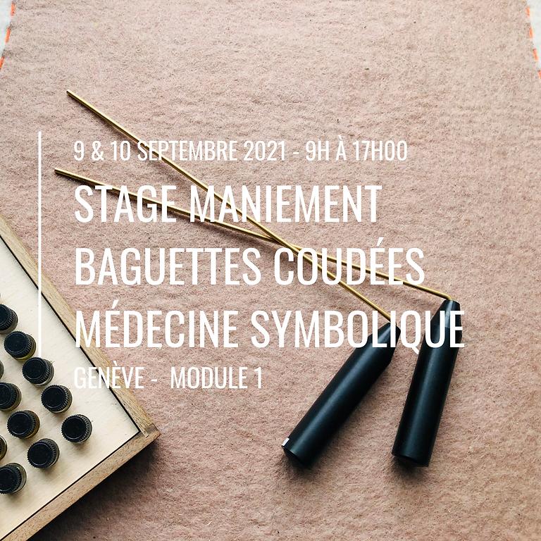 Stage maniement des baguettes coudées module 1