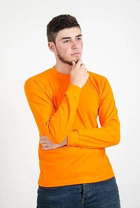 Buso manga larga con puño Naranja S