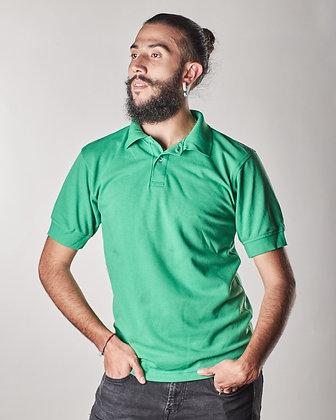 Polo masculina Verde cali S, XL