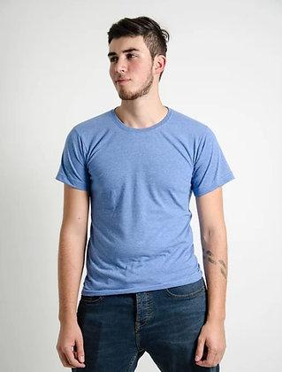 Cuello sencillo masculina Hortencia jaspe S, XL