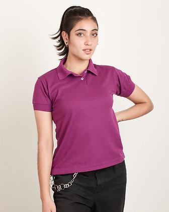 Camiseta Polo Femenina