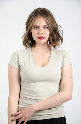 Cuello v femenina Beige S