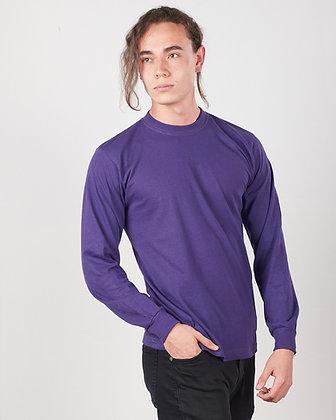 Camiseta manga larga con puño