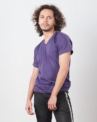 Cuello v masculina Morado S