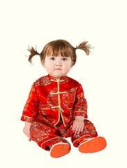kinesisk kostume