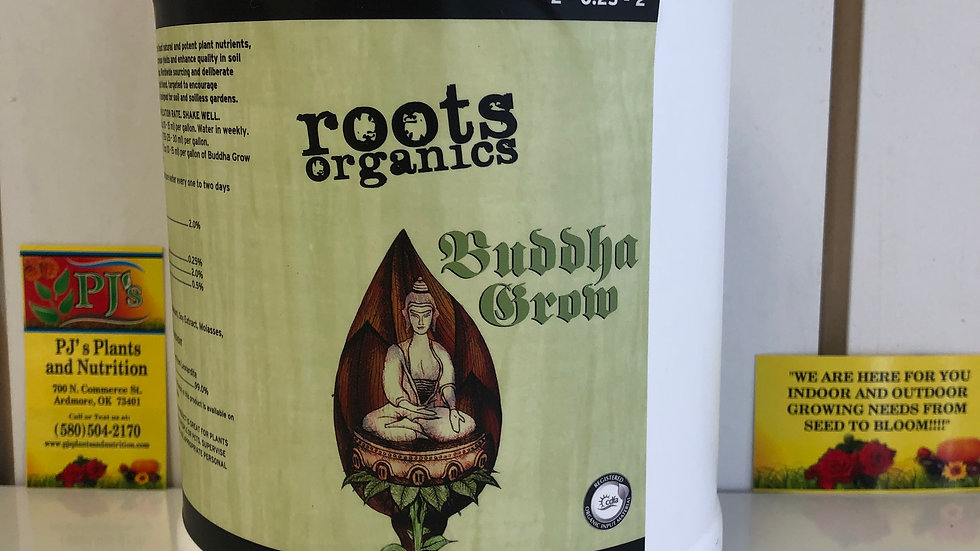 Roots Organics - Buddha Grow 1 gal.