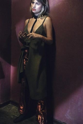 Natasha Elisa in Banu Trouser