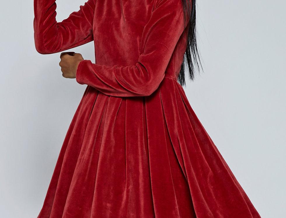 LIDA velvet Dress