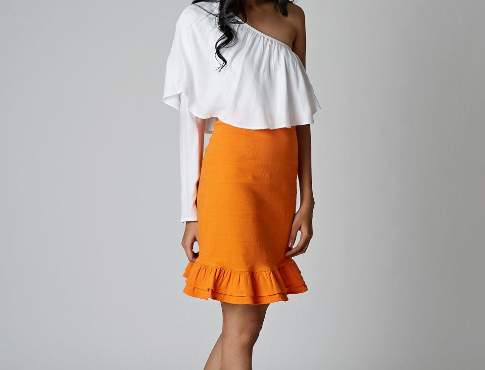TIANA ruffled Skirt