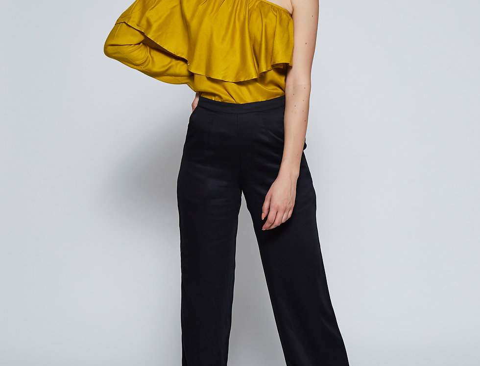 ZIBA One-Shoulder Blouse