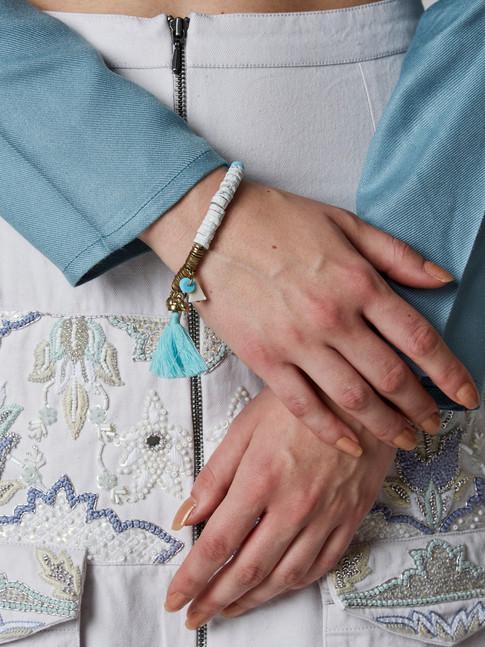 ABAN tassel bracelet