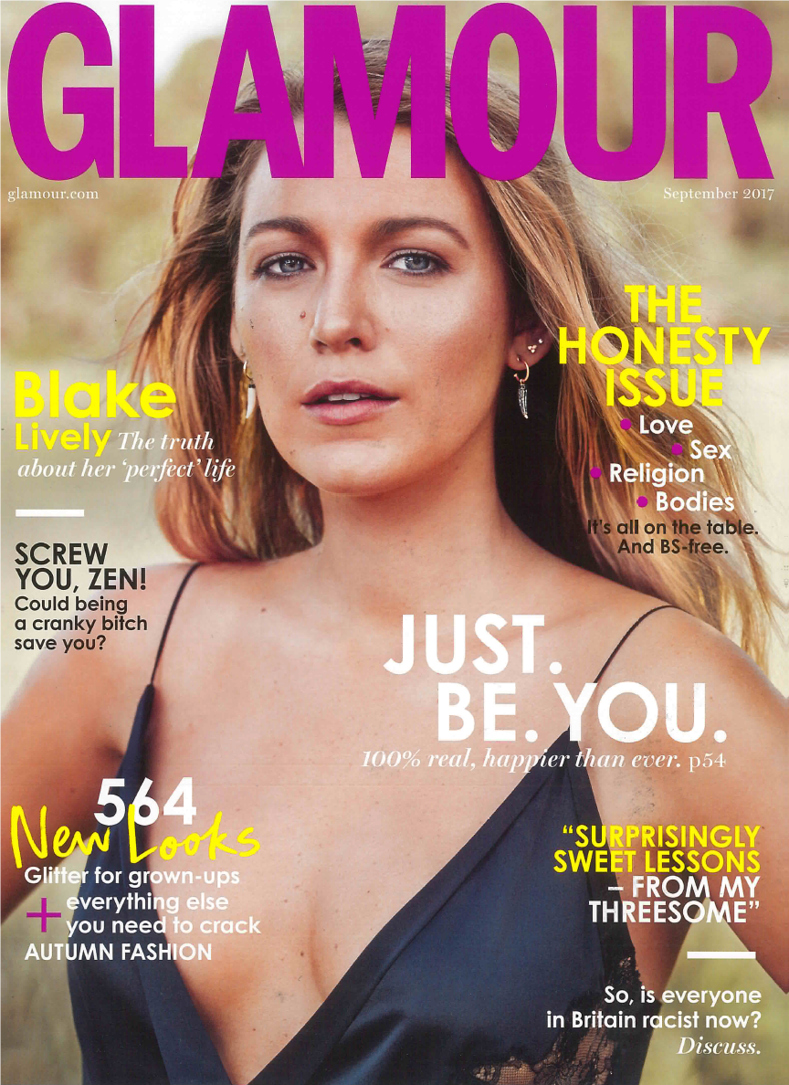 GLAMOUR UK - Cover