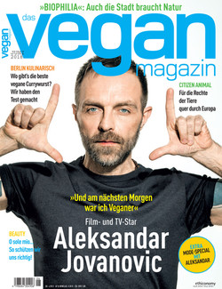 Vegan Magazine - Cover