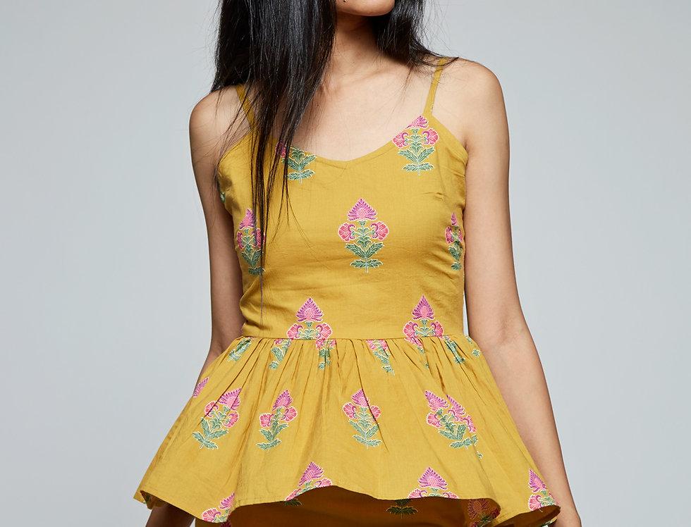 SAMAAH Peplum Dress