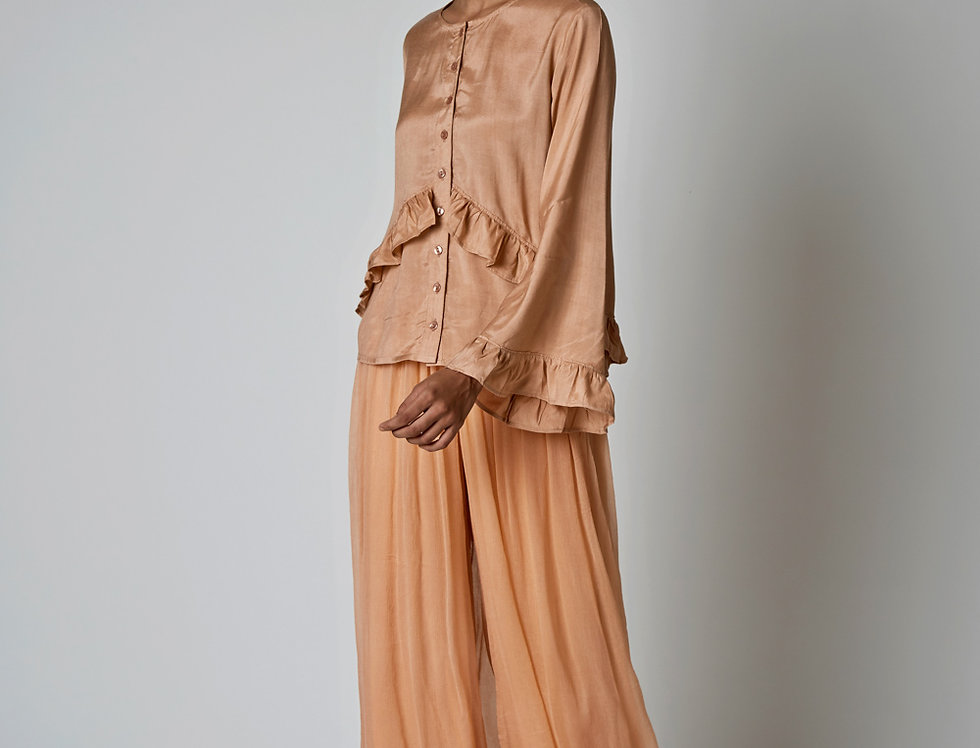 NYAM wide-leg Trousers
