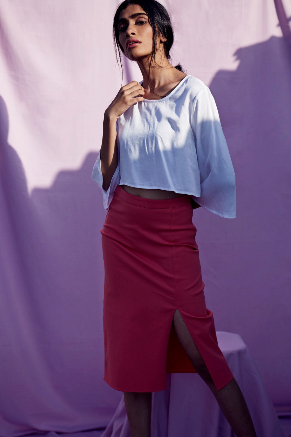 LEYAN Blouse & SEFA Skirt