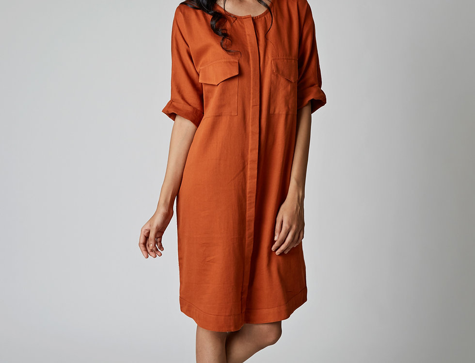 HELIN shirt dress