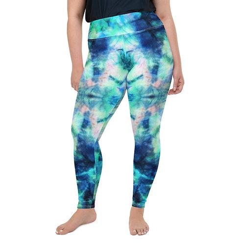 Tie Dye Plus Size Leggings 2X - 6XL