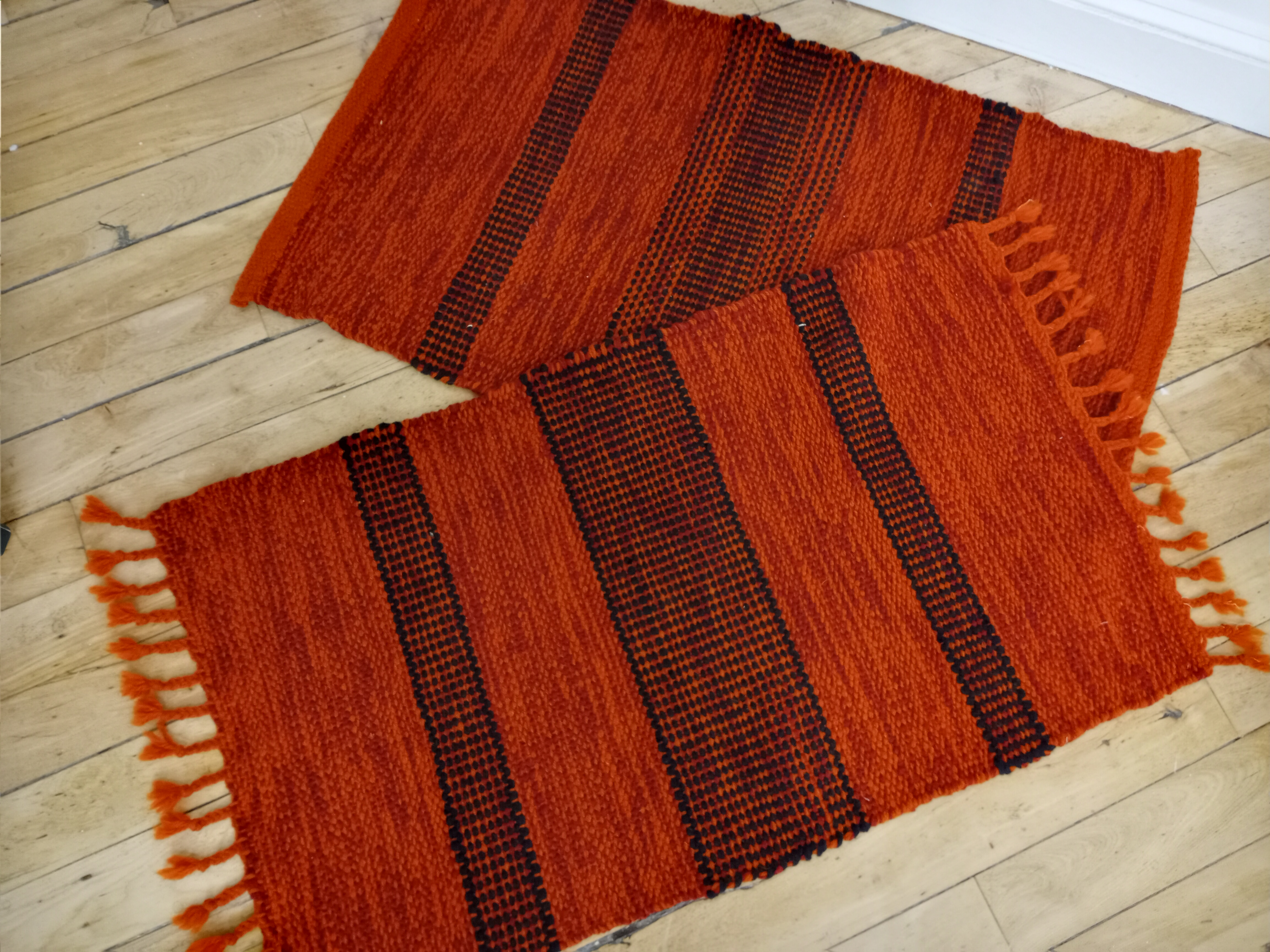 One Remaining: All wool rugs