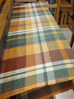 Mousam Falls wool blanket