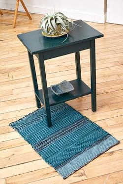green wool rug 2