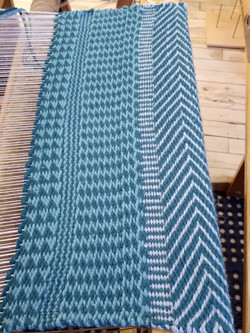 A new wool rug