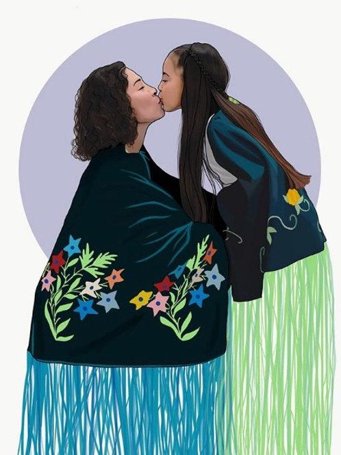Mi'oux'sah Stabler and her daughter