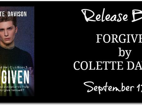 Release Blitz: Forgiven by Colette Davison