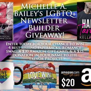 LGBTQ+ Romance Giveaway!