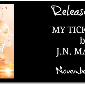 Release Blitz: My Ticket Out - J.N. Marton