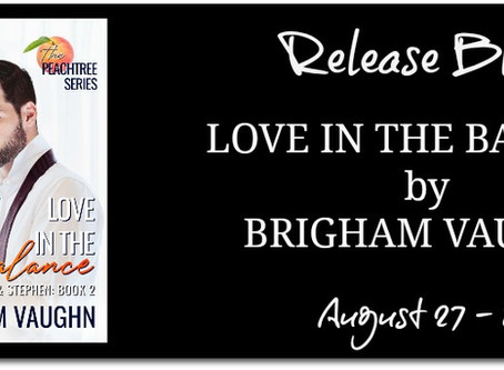 Release Blitz: Love in the Balance Brigham Vaughn