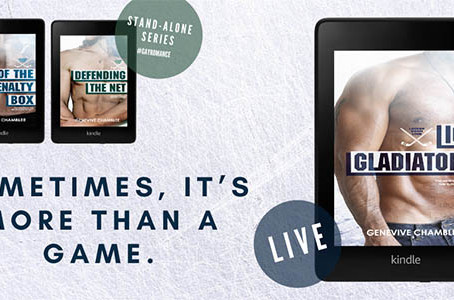 "Blog Tour w/ Giveaway - ""Ice Gladiators"" by Genevive Chamblee"