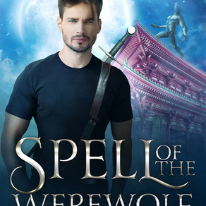 New Cover for Spell of the Werewolf