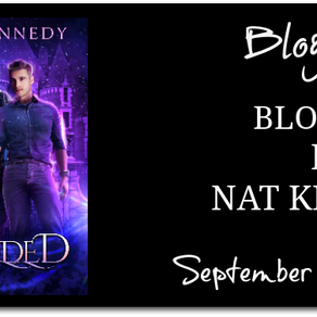 New Release & Giveaway: Blooded by Nat Kennedy