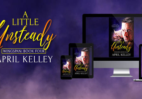 OWI Blog Tour & Giveaway: A Little Unsteady - April Kelley