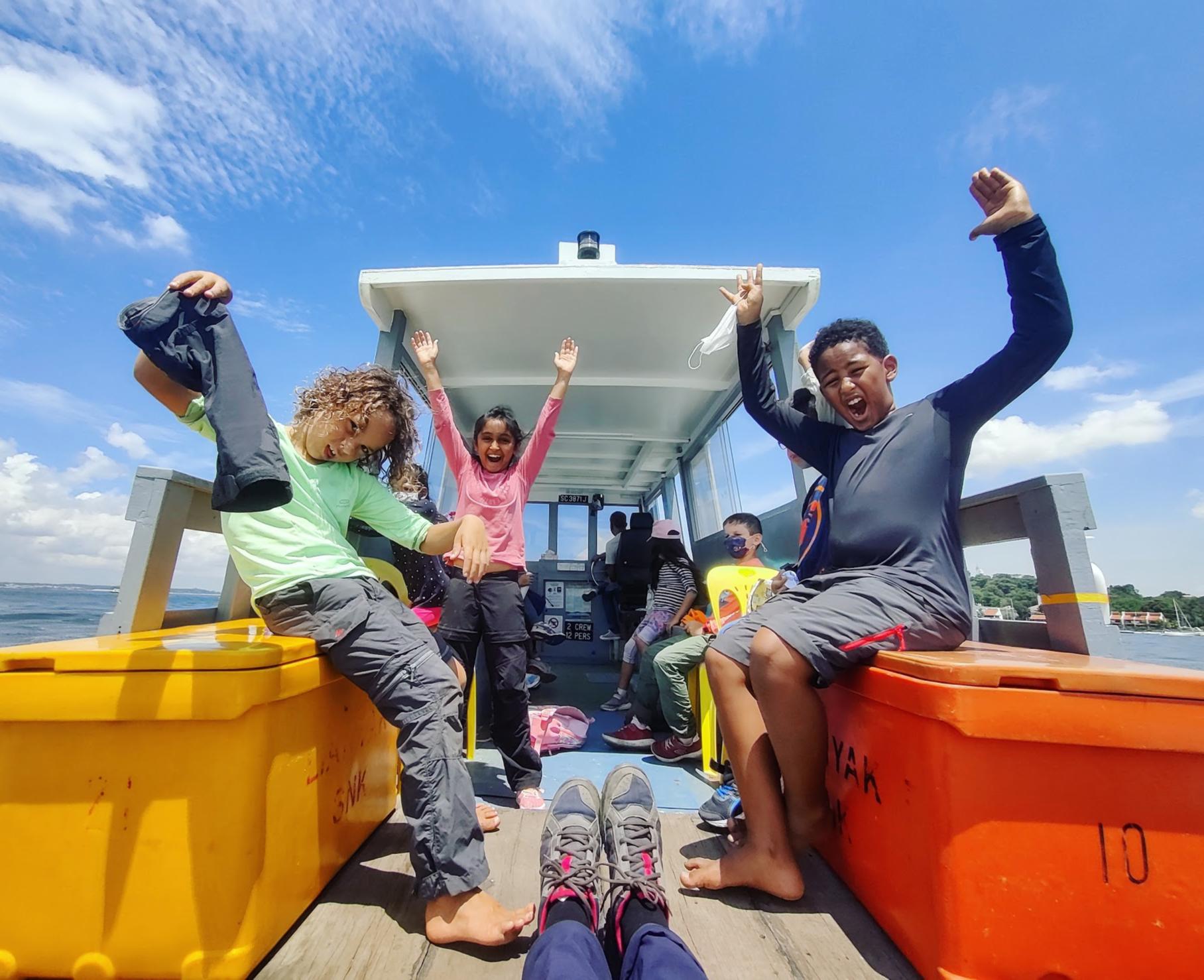 Pulau Ubin Excursion   6th Aug   Private