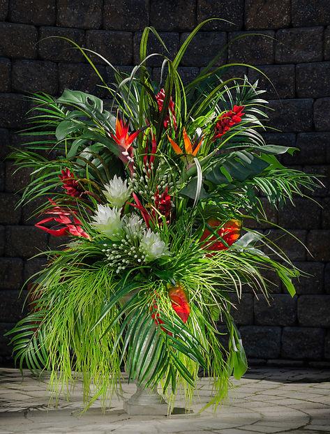 Very large Tropical flower arrangement