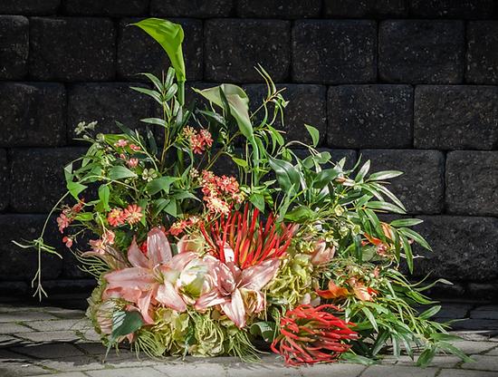 Faux Floral arrangement