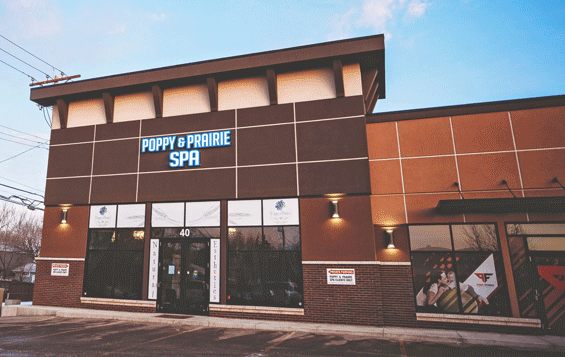 Poppy and Prairie Spa Saskatoon