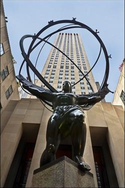 Atlas Sculpture & Rockefeller Centre