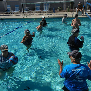 Water Volleyball Senior Games 2019