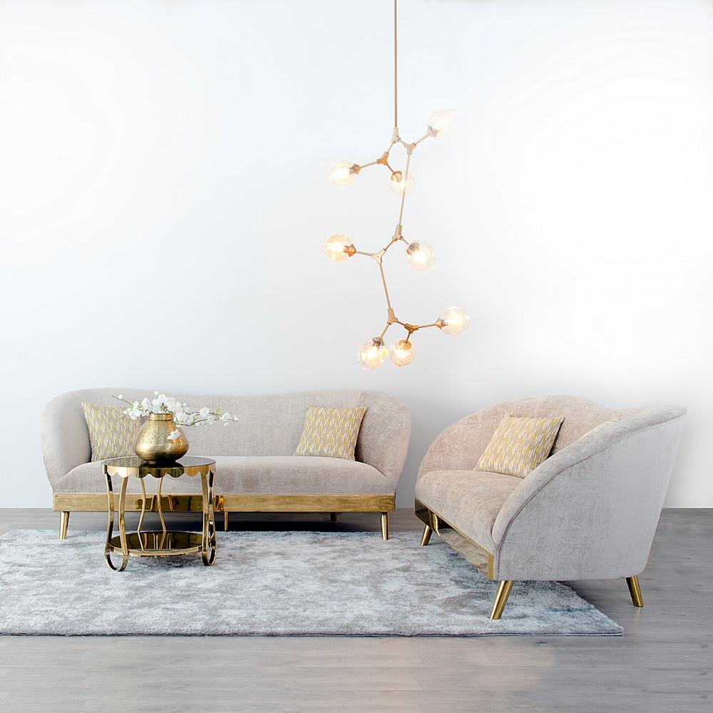 sofa oro violeta
