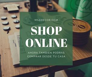 Tienda online proximamente